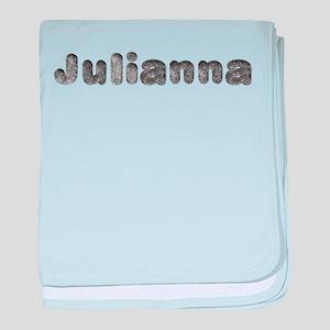 Julianna Wolf baby blanket