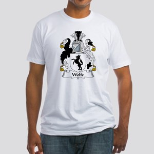 Wolfe Family Crest Fitted T-Shirt