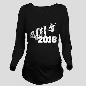 Class of 2018 Evolut Long Sleeve Maternity T-Shirt