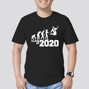 Class of 2020 Evolutio Men's Fitted T-Shirt (dark)