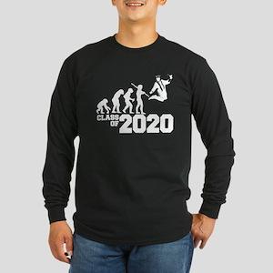 Class of 2020 Evolution Long Sleeve Dark T-Shirt