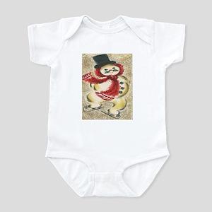 Vintage Snowman Infant Bodysuit
