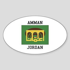 Amman Jordan Sticker
