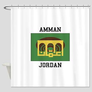 Amman Jordan Shower Curtain