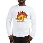 Stegosaurus Long Sleeve Dinosaur T-Shirt