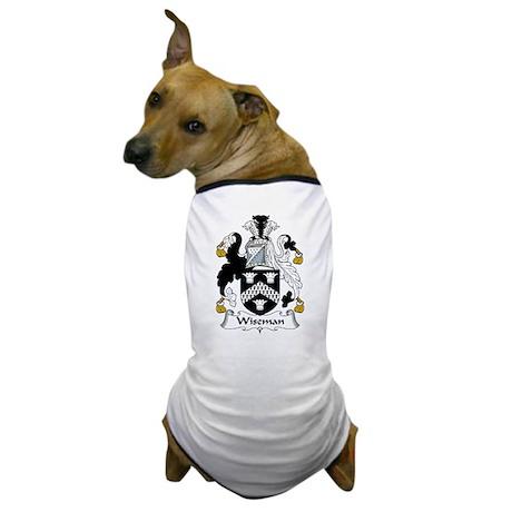 Wiseman Family Crest Dog T-Shirt