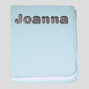 Joanna Wolf baby blanket