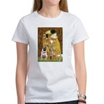 The Kiss / Pug Women's T-Shirt
