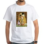 The Kiss / Pug White T-Shirt