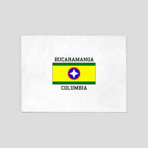 Bucaramanga Colombia 5'x7'Area Rug