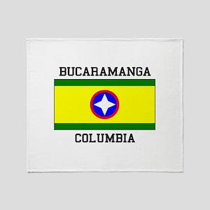 Bucaramanga Colombia Throw Blanket