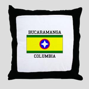Bucaramanga Colombia Throw Pillow