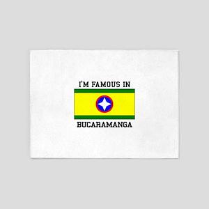 I'm Famous In Bucaramanga 5'x7'Area Rug