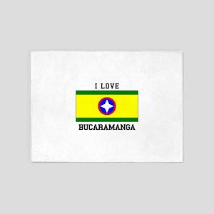 I Love Bucaramanga 5'x7'Area Rug