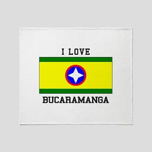 I Love Bucaramanga Throw Blanket