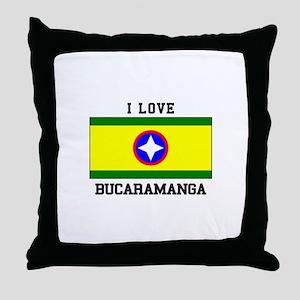 I Love Bucaramanga Throw Pillow