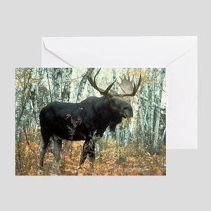 Huge Moose Greeting Card