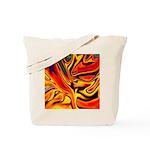 Native American Firebird Tote Bag