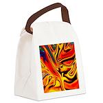 Native American Firebird Canvas Lunch Bag