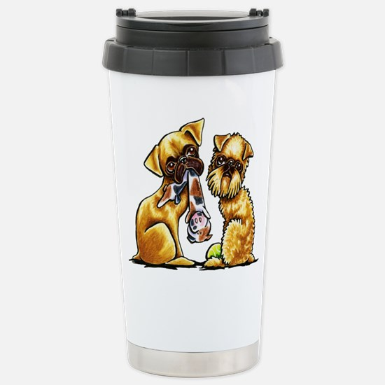 Griffs and Toys Travel Mug