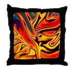 Native American Firebird Throw Pillow
