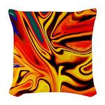Native American Firebird Woven Throw Pillow