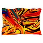 Native American Firebird Pillow Case