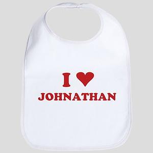 I LOVE JOHNATHAN Bib