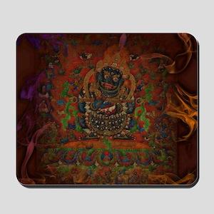 Mahakala from Buddhism Mousepad