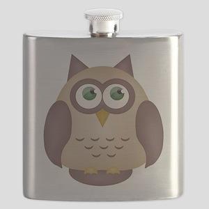 Brown Owl Flask