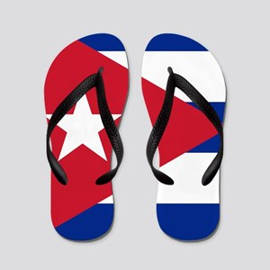 Flag of Cuba Flip Flops