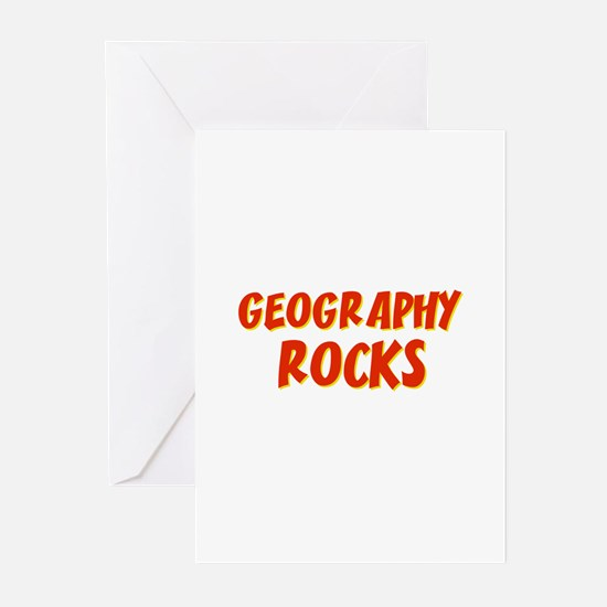 Geography~Rocks Greeting Cards (Pk of 10)