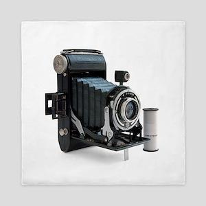 Vintage Camera Queen Duvet