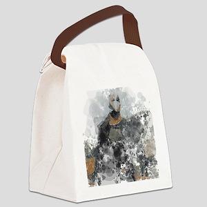 Fibromyalgia monster Canvas Lunch Bag