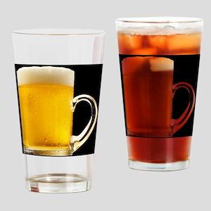 Foamy Beer Mug Drinking Glass