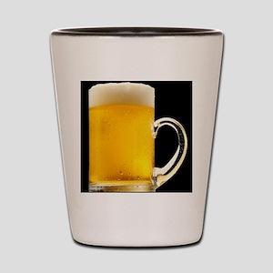 Foamy Beer Mug Shot Glass