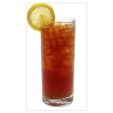 A Glass of Iced Tea Poster