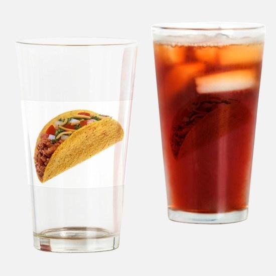 Hard Shell Taco Drinking Glass