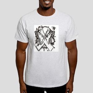 Butterfly ribbon© Light T-Shirt