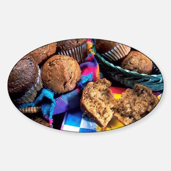 Muffins Sticker (Oval)