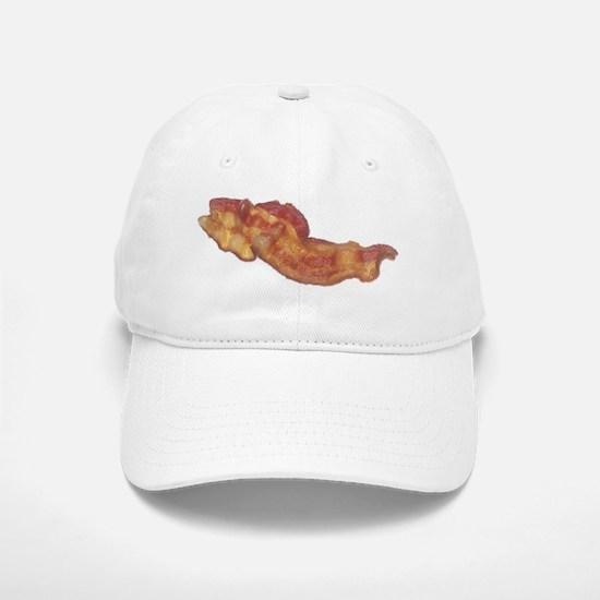 Cooked Bacon Baseball Baseball Cap