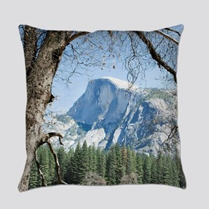 Yosemite's Half Dome Everyday Pillow