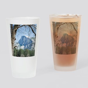 Yosemite's Half Dome Drinking Glass