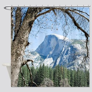 Yosemite's Half Dome Shower Curtain