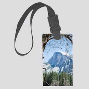 Yosemite's Half Dome Large Luggage Tag