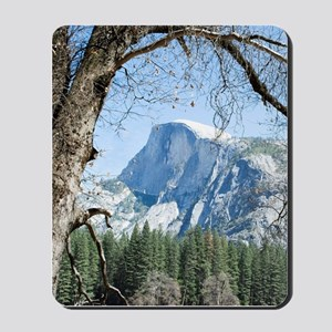 Yosemite's Half Dome Mousepad