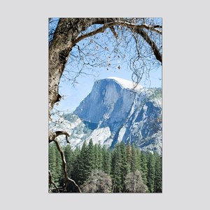 Yosemite's Half Dome Mini Poster Print