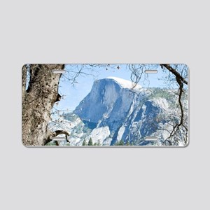 Yosemite's Half Dome Aluminum License Plate