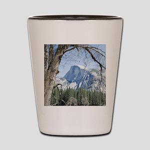 Yosemite's Half Dome Shot Glass