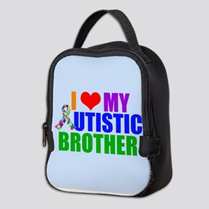 Autistic Brother Neoprene Lunch Bag